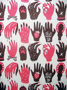 claws【textile design makumo】