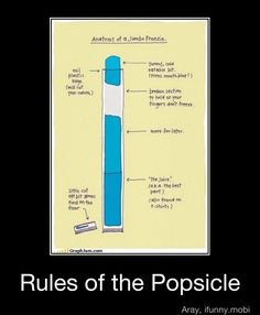 Rules of the Popsicle