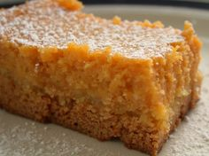 Pumpkin Gooey Butter Cake | Making it Sweet