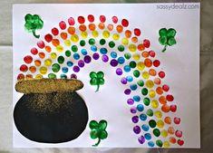 pot of gold rainbow craft
