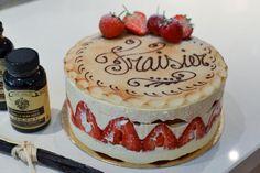 Eric Lanlard's Gateau Frasier sweet treat, guilti pleasur, beauti cake ...