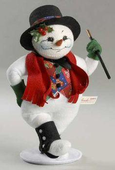 *SNOWMAN ~ Annalee Dolls