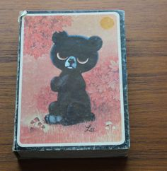 Lee+Big+Eyed+Honey++Bear+Puzzle+by+arctictimberwolf+on+Etsy,+$10.00
