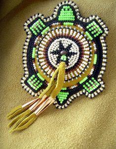 nativ american, beading patterns, bead turtl, native americans, seed bead patterns, beadwork, american bead, seed beads, bead work