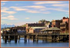 Port Townsend, Washington - camped here in a tent and in our fifth wheel, docked here on our boat, walked on the Keystone Ferry to visit for the day and ALWAYS enjoy going back....