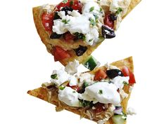 Greek Nachos Recipe : Food Network Kitchens : Food Network - FoodNetwork.com