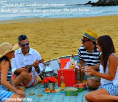 Tips and Recipes For A Summer Beach Picnic Party With #Mirassou Wine.