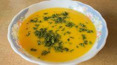Полезный тыквенный суп - пюре