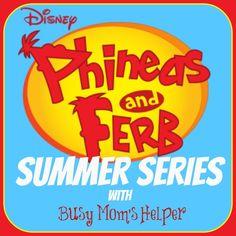 Phineas & Ferb Summer Series: Week 1 via @Danielle {Busy Mom's Helper} #PFSummer #summerfun #kids