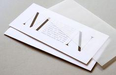 Rosebrook Meyer : Stylish, modern invitations