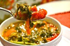 kale soup - vitamix recipe
