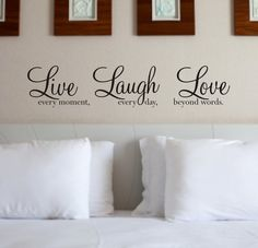 art quotes, gift, quot sticker, quote wall, black kitchens, vinyl wall art, live laugh, wall stickers, wall art decor