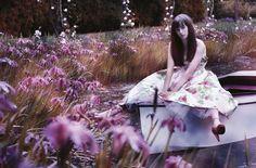 Vogue, secret garden shoot
