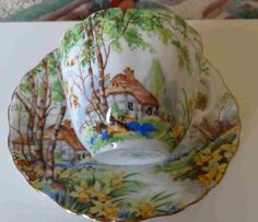 $45.00  Lorna Doone #cupandsaucer by Hammersley fine bone china.    #tucsontiquescollectibles