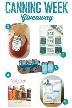 Canning Week Giveaway on mountainmamacooks.com #canningweek14