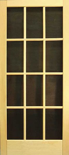 I want this storm door with glass added and painted black, sharp!