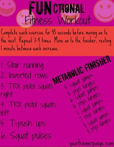 Functional Fitness workout #Fitfluential