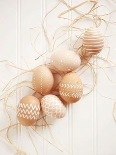 Find out the simple and stunning trick to creating these no-dye Easter eggs!