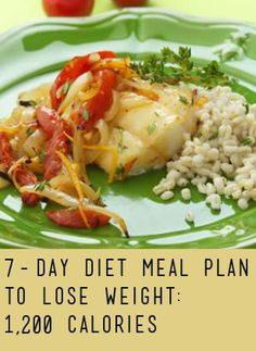 7-Day Diet Meal Plan to Lose Weight | Eating Well