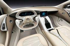 2010 Mercedes-Benz F800 Style Concept - Cockpit View