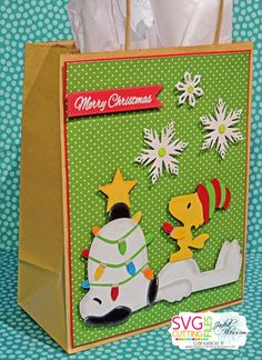 Paper Crafts by Candace, Charlie Brown Holiday Collection Blog Hop..free files, only today and tomorrow..adorable..
