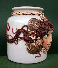 Sea Goddess Vase  by MandarinMoon, via Flickr