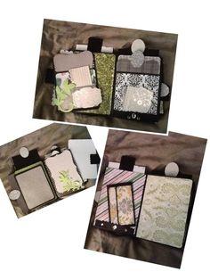 Envelope mini - tutorial by Kathy Orta (who is amazing)!