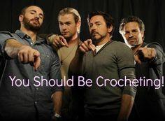 crochet fantast, hand knit