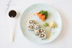 Spicy Tuna Roll & Salmon Sashimi on Munchery