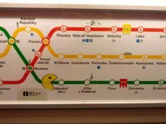 Prague metro and pac-man