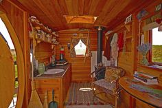 Lori's hut, a 7×12 one room cabin.