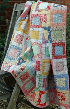 Serendipity Patch: Two Finished Quilts