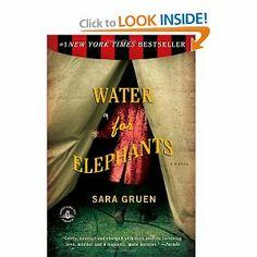 better book, books, worth read, book worth, book better, water for elephants, movi, sara gruen, bookworm