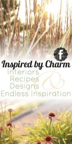 Join Michael Wurm, Jr and Inspired by Charm on Facebook for more ideas, recipes, and inspiration. Share your ideas and thoughts too! I'd love to hear from all of you. www.facebook.com/inspiredbycharm