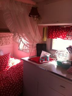 Tiny trailer interior