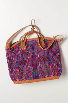 Allende Weekender Bag by Stela 9: I purchased my weekender bag in Chichicastenango, but that's an awful long trek for a bag! ;)
