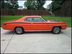 F110 1972 Plymouth Duster  340 CI, Automatic Photo 2