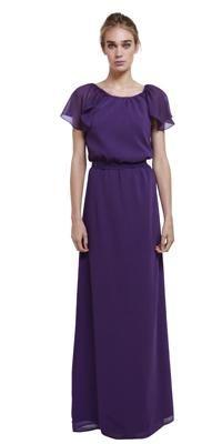 Union Long [[modest formal bridesmaids dress]]