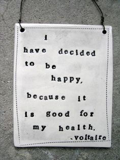 Happiness is Healthy.