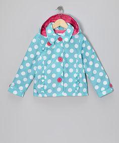 toddler girls raincoats light blue