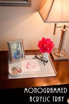 trays, creativ, lucit tray, crafti, acrylics