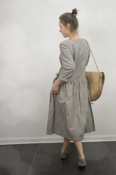 wrap dresses, linen