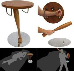 Pick your furniture based on getting ready for the zombie apocalypse. You never know!