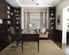 Home Office Masculine Design, Pictures, Remodel, Decor and Ideas - page 3