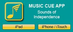 Music cue app - helps you set up music cues for transitions in the classroom.