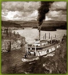 Robert Fulton's North River Steamboat was the first successful steamboat that made its run from NYC to Albany in 1807