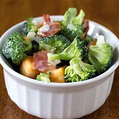 Broccoli Salad - The only vegetable recipe I'm totally addicted to!