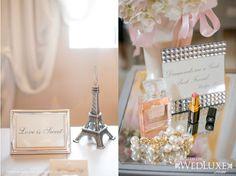 WedLuxe Magazine - Parisian Bridal Shower