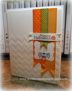 Stampin' Up! Halloween  by 329shana at stressfreestamping