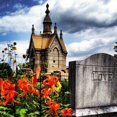 Oakland Cemetery in Atlanta, Georgia.